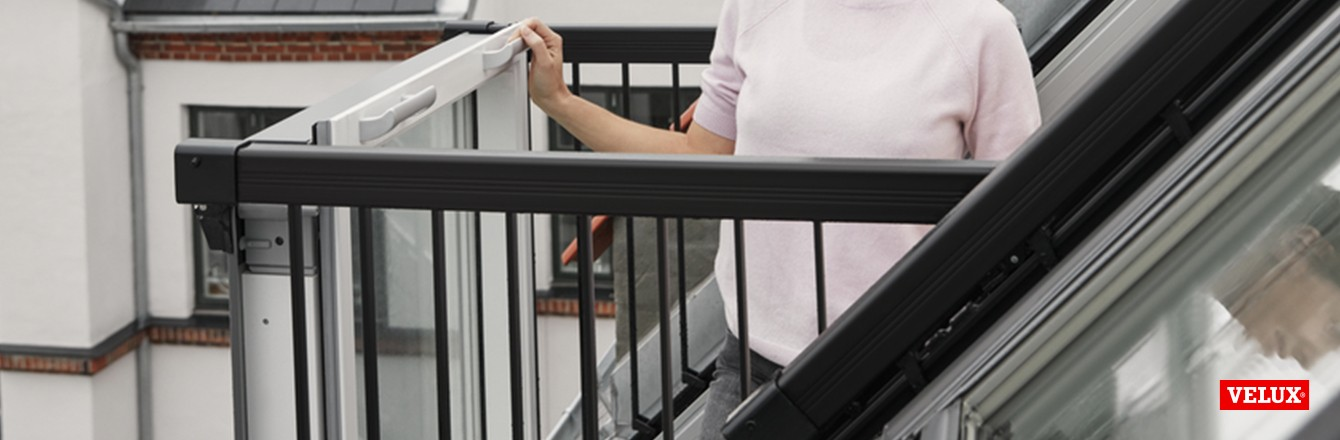 Balkonai ir stogo terasos